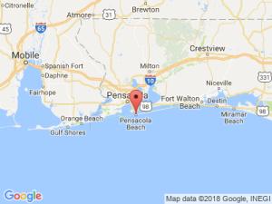 staticmap-Pensacola Beach